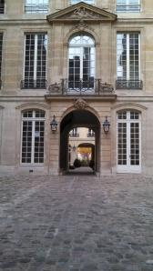 Courtyard, 79 rue du Temple