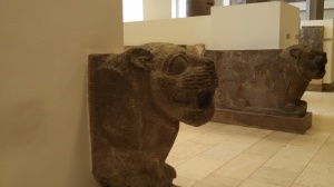 Assyrian lion gate