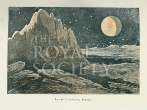 Lunar Landscape 1910 (C) Royal Society Picture Library