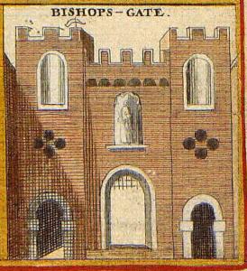 Bishopsgate, ca. 1650