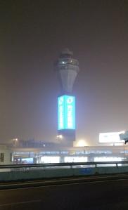 control tower smog