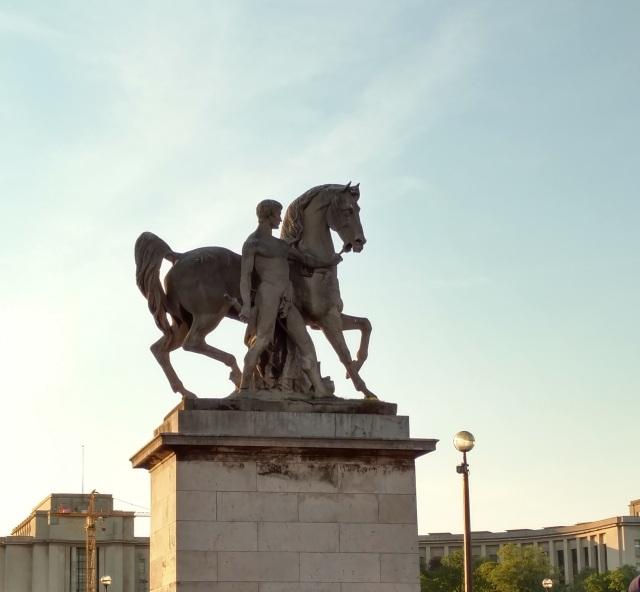 horse, Pont d'Iena