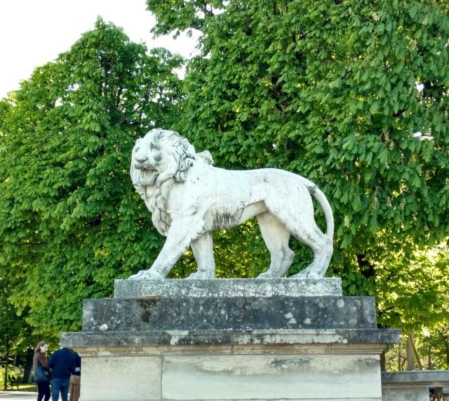 lion, Jardin de Luxembourg