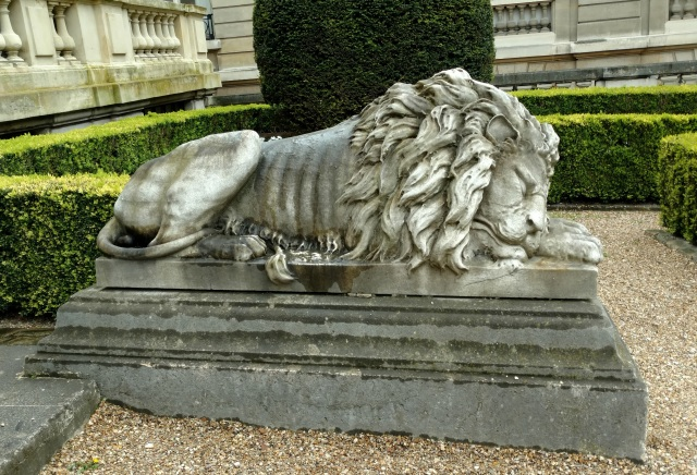 sleeping lion, Jacquemart-Andre