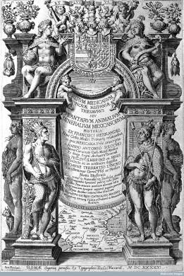 L0001205 F. Hernandez, 1517-1587, Rerum Medicarum..., 1649