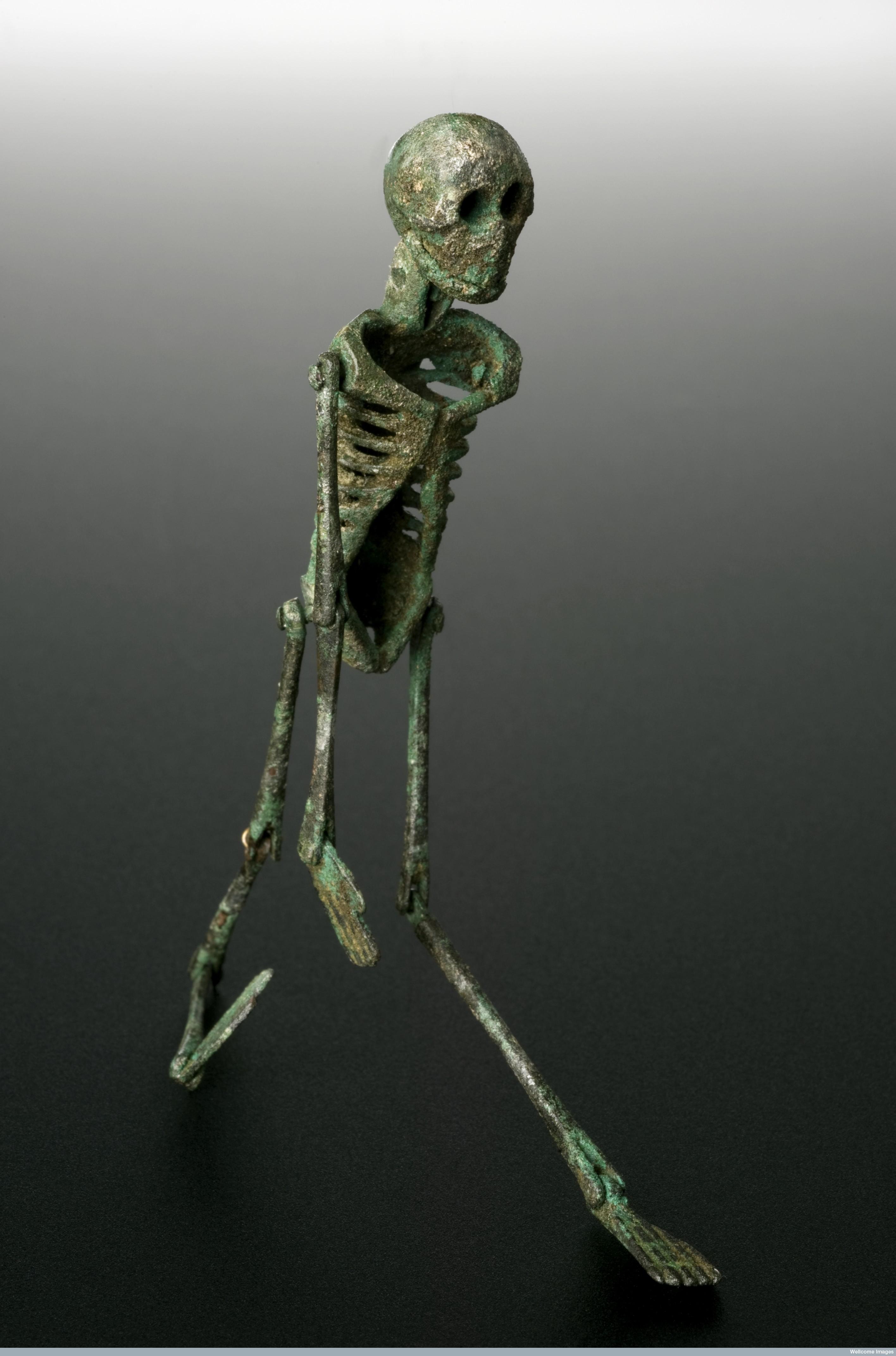 L0058239 Memento mori, Roman, 199 BCE-500 CE